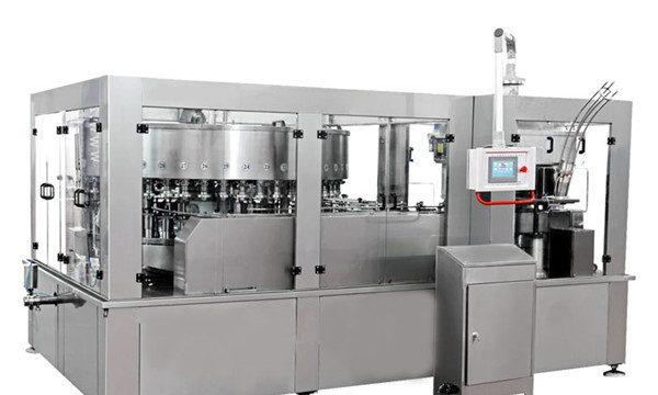 Stroj za punjenje aluminijskih limenki za bezalkoholno piće