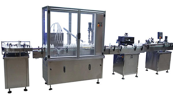 Automatski stroj za punjenje i označavanje boca
