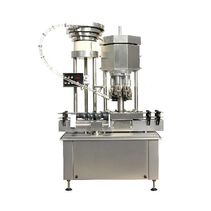 Automatski stroj za zatvaranje čepova za boce / bocu s višestrukim glavama / boca za boce