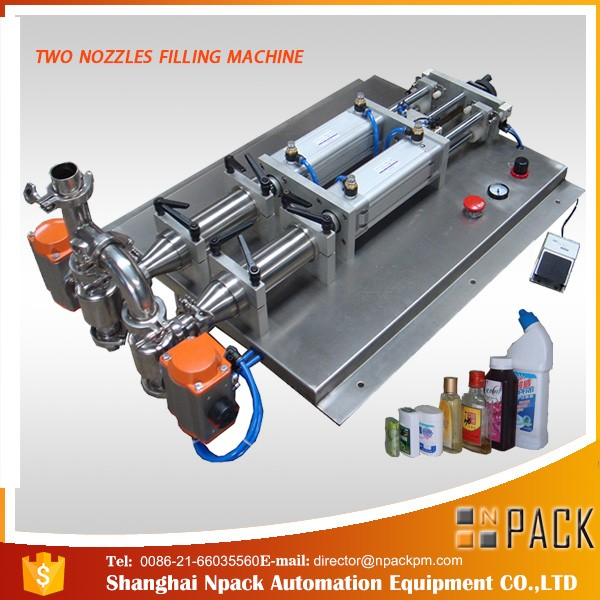 Poluautomatski stroj za punjenje korozivnih tečnih tekućina