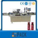 Poluautomatski stroj za vakuumsko punjenje tekućina niska