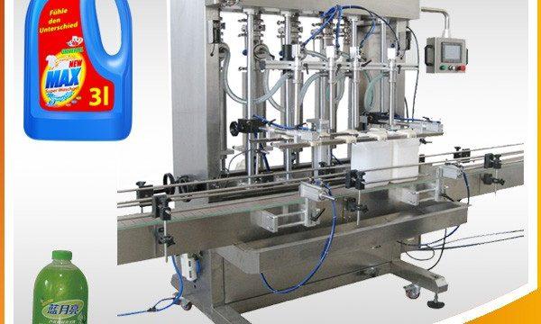 Stroj za punjenje tekućina s dvostrukom glavom s klipom