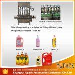 Automatski stroj za punjenje jestivih 2, 4, 6, 8, 10, 12 glava jestivih ulja