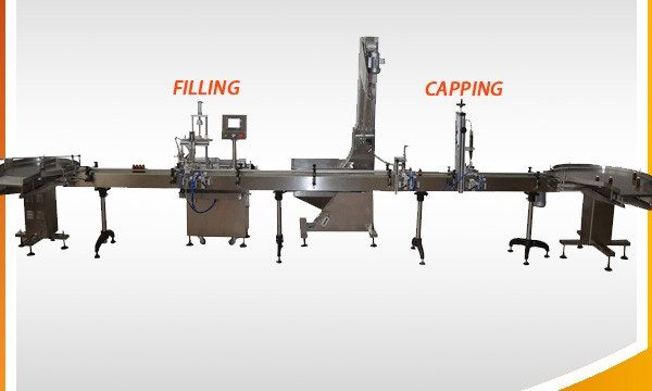 Stroj za punjenje biljnog ulja biljnim uljem
