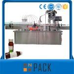 Automatski stroj s rotirajućom tekućinom za punjenje boce s poklopcem