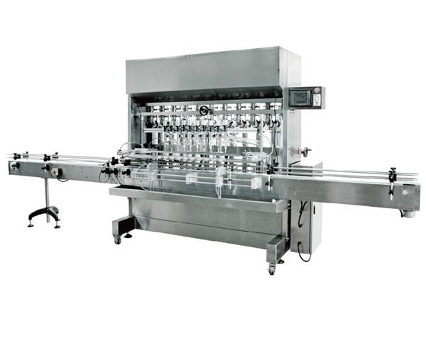 Automatski stroj za punjenje tekućine od 12 glava u umaku od soje