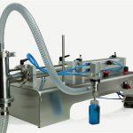 Pneumatski upravljački stroj za punjenje ulja s dvostrukim glavama