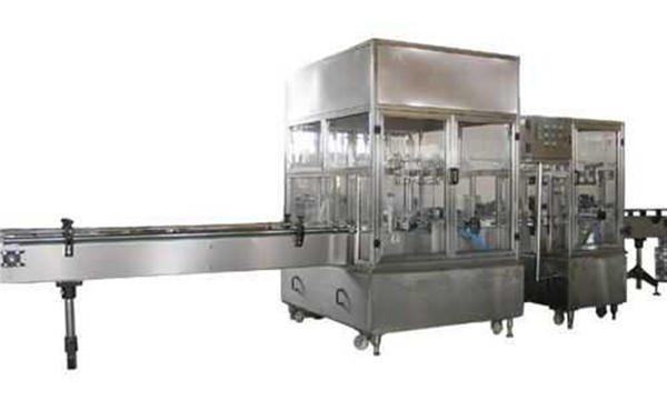 Potpuno automatska linija automata za punjenje tekućeg sapuna