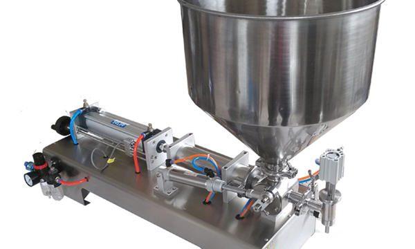 Poluautomatski stroj za punjenje staklene posude u staklenoj posudi