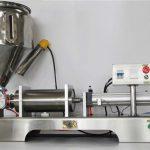 Čisti pneumatski poluautomatski stroj za punjenje voća