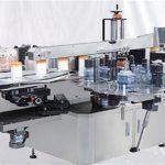 Stakleni stroj za bočicu parfema s gornjom površinom naljepnica