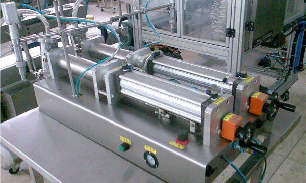 Kvalitetni stroj za punjenje tekućih šampona s dvostrukim mlaznicama
