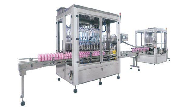 Potpuna automatska mašina za punjenje tekućeg sapuna sapunom