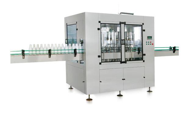 Automatski stroj za punjenje tekućih sapuna s osam glava u klip