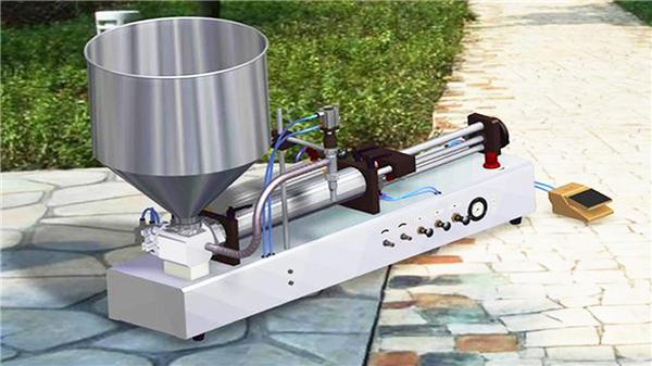 Polu-automatska mašina za punjenje zubnih pasta