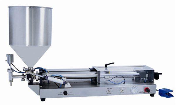 Poluautomatski stroj za punjenje paste za 3mL-5L