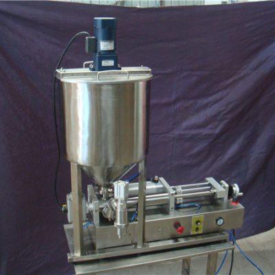 Polu-automatizirani stroj za punjenje tekućina s 2 glave